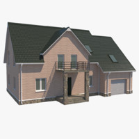Middle-Poly Cottage 01
