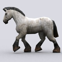 3ds fantasy animal - horse