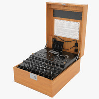Enigma Cipher Machine 02