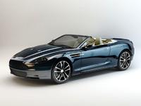 3d model aston martin dbs volante