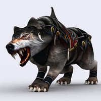 fantasy mount animal 3ds