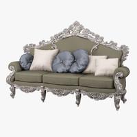 modenese gastone sofa 12408 3d obj