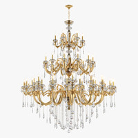 chandelier 788542 lusso osgona 3d model