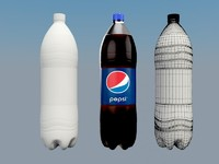 3ds max pepsi bottle