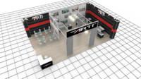 exhibition 48 esart 3d model
