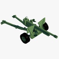 3ds max anti tank cannon ww