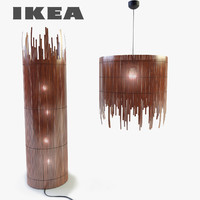 rotvik pendant light ikea 3d 3ds