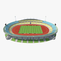 3d model royal bafokeng stadium