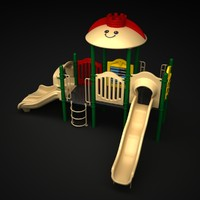 playground outdoor play 3d max