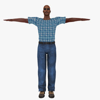 free people human 3d model