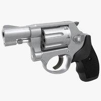 3d model revolver 4