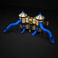 3d model of playground outdoor play