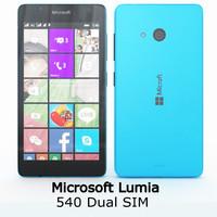 3ds max microsoft lumia 540 dual