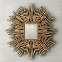 17th c sunburst mirrors 3d model