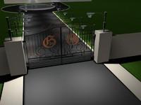 gate house c4d