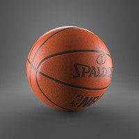 3d 3ds basketball ball