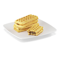waffles filling 3d model