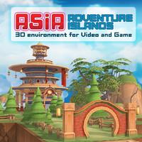 adventure islands 3d model
