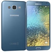 3d samsung galaxy e5 blue