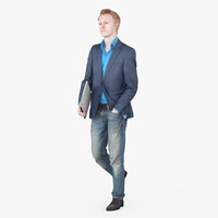 max businessman fullbody scan
