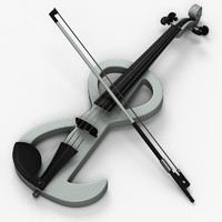 3ds max electric violin