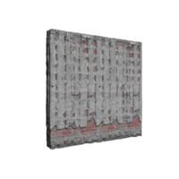 modular wall set 3d blend