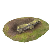 war nest 3d model