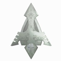 3d model of arrow tip