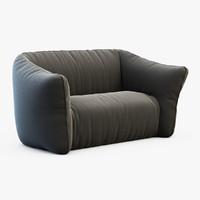 garden sofa 3d max