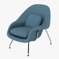 eero s womb chair 3d model