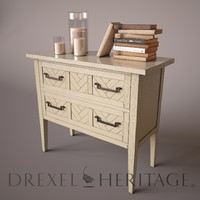 Herringbone Night Stand