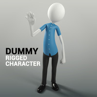 Dummy Character Rigged