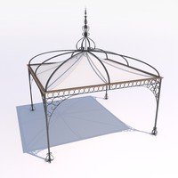 unopiu tibisco pavilion 3d model