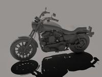 3d model motor