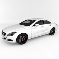 3ds max mercedes-benz cls