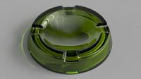 max ashtray glass