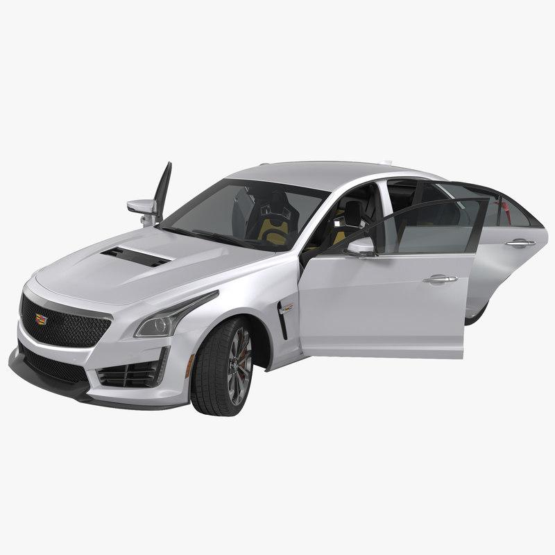Cadillac CTS V 2016 Rigged 3d model 001.jpg