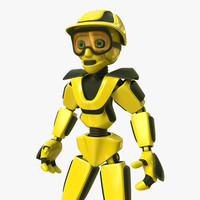 robot builder 3d model