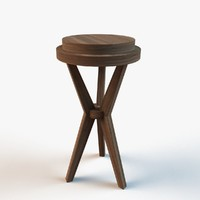 designer table 3d model