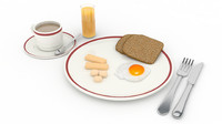 breakfast set 3ds