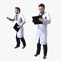 rigged doctor 3d max