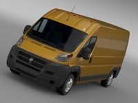 Ram Promaster Cargo 2500 HR 159WB 2015