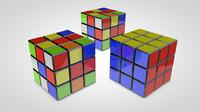 magic cube 3d c4d