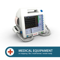 clinical defibrillator 3d 3ds