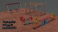 3d model asset playground