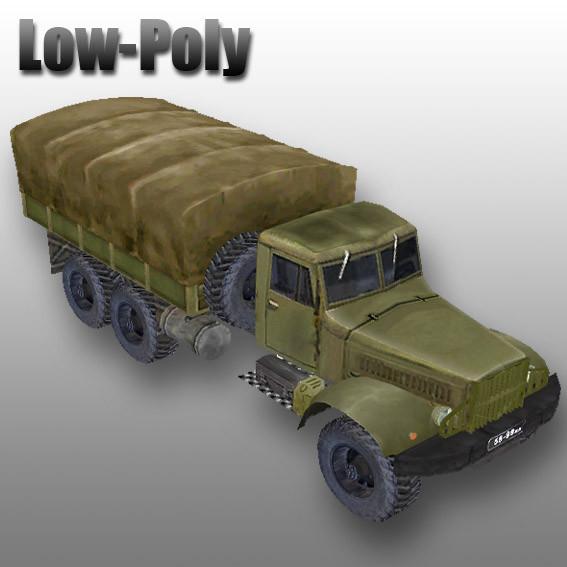 KrAZ 255B off-road military truck