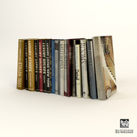 3ds max modern books albums