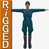 3dsmax human rigged