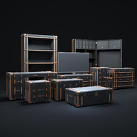 3ds max richards -trunk-collection
