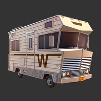3d model winnebago motor home